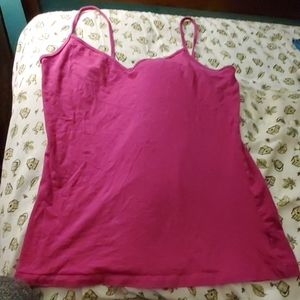 (3 for $10) Pink Cami Tanktop